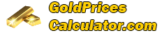 Gold Prices Calculator
