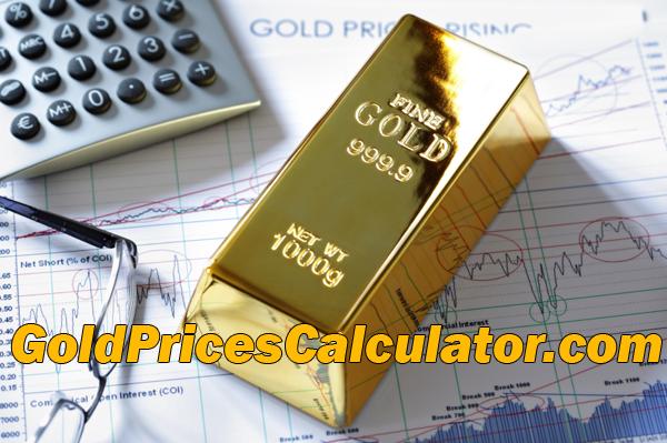 Gold Prices Calculator, Scrap Gold Calculator, Find The